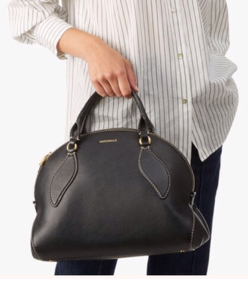 borsa Colette maxi nera Coccinelle