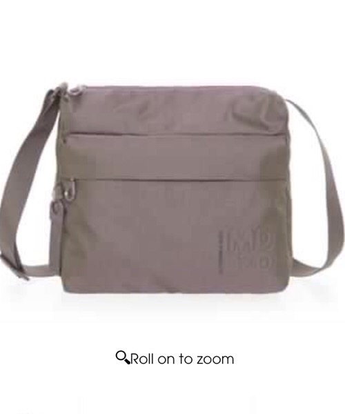 MD20 BORSA A TRACOLLA Mandarina Duck color mole