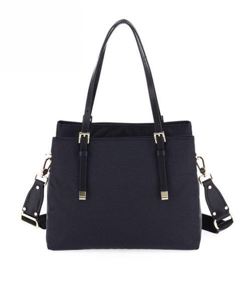 Borbonese Shopping bag Medium nera